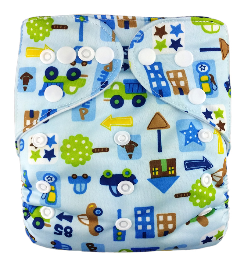 Prints Pocket Diaper R1