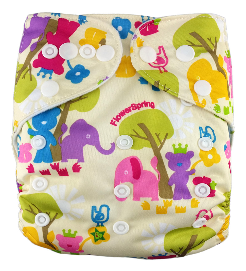 Prints Pocket Diaper R10