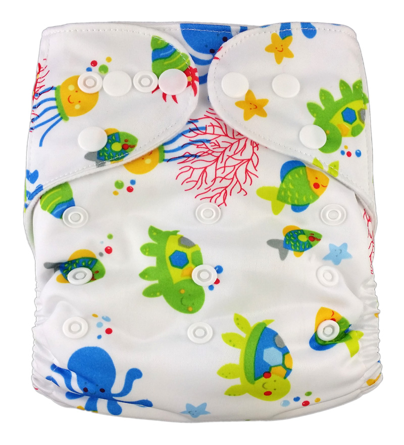 Prints Pocket Diaper R5