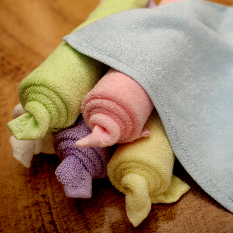 100% Bamboo Baby Washcloths / Reusable Wipes